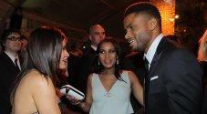 Kerry Washington and Nnamdi Asomugha